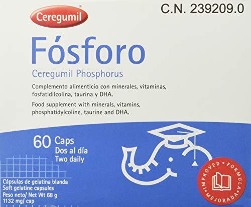 Ceregumil Fósforo - 60 Cápsulas