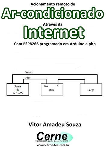 Acionamento remoto de Ar-condicionado Através da Internet Com ESP8266 programado em Arduino e php