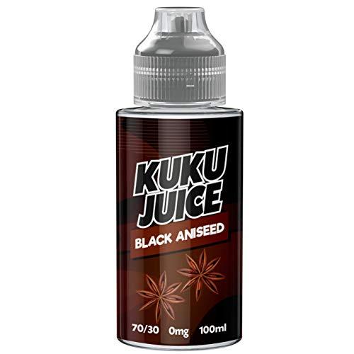 100ml Black Aniseed E Liquid 70VG/30PG Vape ELiquid Vaping No Zero Nicotine...