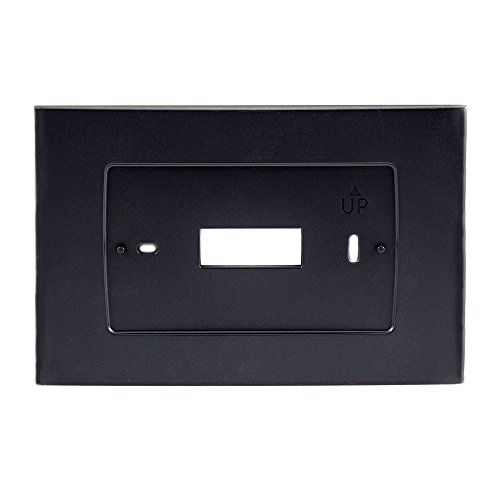 Emerson Wall Plate SA5B for Sensi Touch Wi-Fi Thermostat, Black