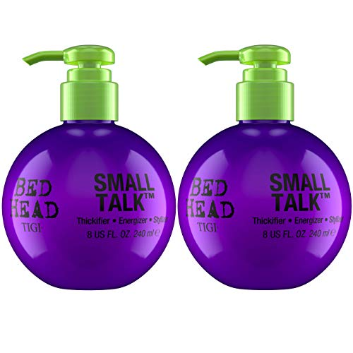 Bed Head by Tigi Small Talk Volumen-Stylingcreme für feines Haar, 240 ml, 2er-Pack