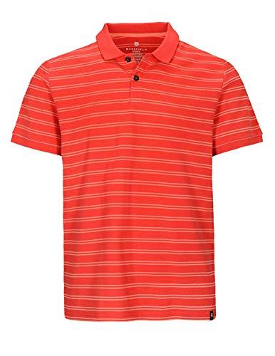 BASEFIELD Polo Shirt 1/2, rot(Tomato (430)), Gr. XL