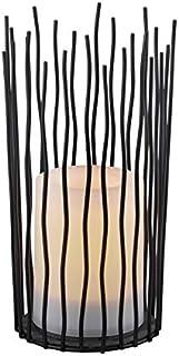 Reality Leuchten Coro R55136132 solarna lampa stołowa LED, kolor czarny, tworzywo sztuczne z efektem migotania