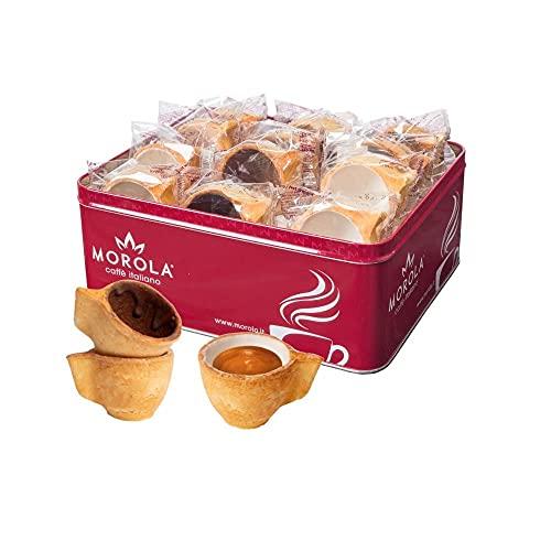 Tazzotto Morola - Tazza Biscotto in Pasta Frolla - Bere un Caffè Espresso in Maniera Diversa -...