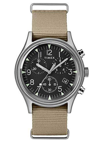 Timex Mens Chronograph Quartz Watch with Nylon Strap TW2T10700