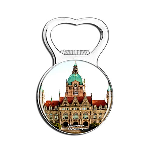 Weekino Deutschland Neues Rathaus Hannover Kühlschrankmagnet Bier Flaschenöffner Stadt Reise Souvenir Sammlung Starker Kühlschrankaufkleber