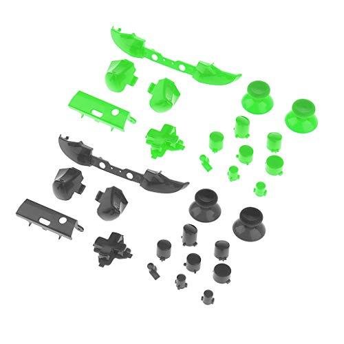 balikha 2X Botones de Disparo del Parachoques D-Pad LB RB Lt RT para Los Controladores Delgados de Xbox One - B
