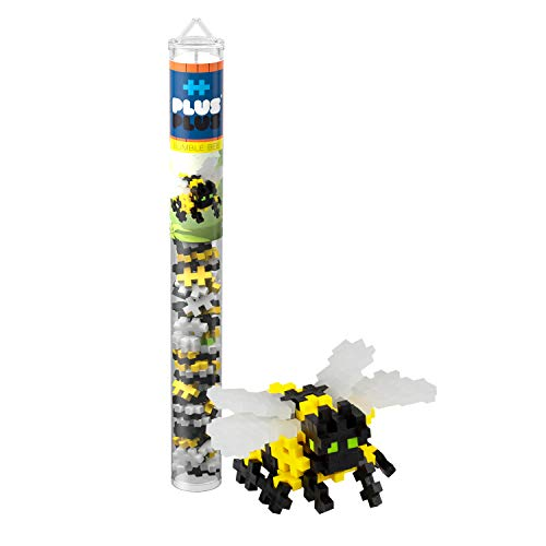 PLUS PLUS – Mini Maker Tube – Bumble Bee – 70 Piece,...