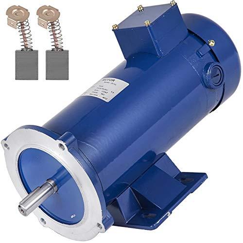 VEVOR 1 Hp DC Motor Rated Speed 1750 RPM 90V Electric Motor Permanent Magnet Motor