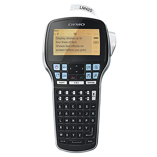 DYMO Label Maker with Adapter for Home and Office Organization