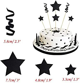 Best black cake decorations Reviews