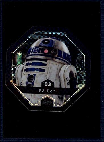 2017 Winn Dixie Star Wars Cosmic Shells Foil #3 R2-D2