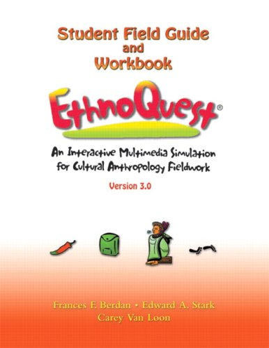 Compare Textbook Prices for EthnoQuestR: An Interactive Multimedia Simulation for Cultural Anthropology Fieldwork, Version 3.0BK & CD-Rom 1 Edition ISBN 9780131850132 by Berdan, Frances F.,Stark, Edward A.,Van Loon, Carey