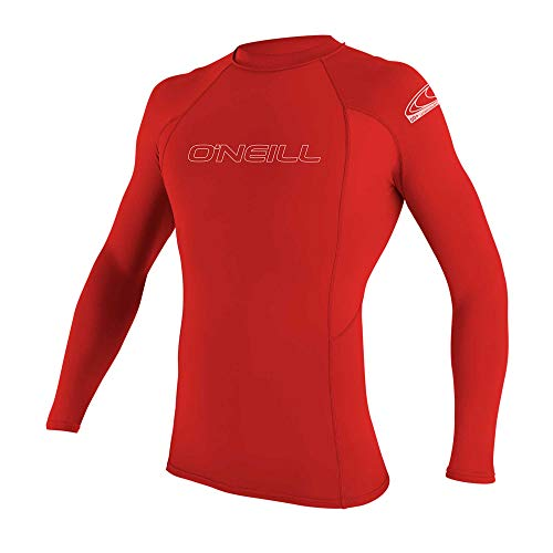 O'Neill Men's Basic Skins UPF 50+ Long Sleeve Rash Guard -$15.30(55% Off)