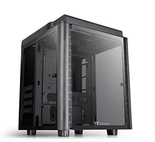 Thermaltake Level 20 HT E-ATX Full Tower PC Gehäuse Tempered Glass, CA-1P6-00F1WN-00, schwarz