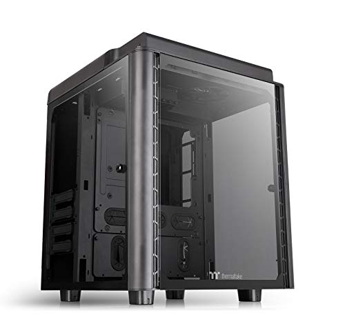 Thermaltake Level 20 HT E-ATX Full Tower PC Gehäuse Tempered Glass, CA-1P6-00F1WN-00, schwarz