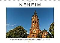 """Neheim Leuchtenstadt mit """"Sauerlaender Dom"""" (Wandkalender 2022 DIN A3 quer): Motive aus Neheim, einem Stadtteil von Arnsberg im Sauerland (Monatskalender, 14 Seiten )"""