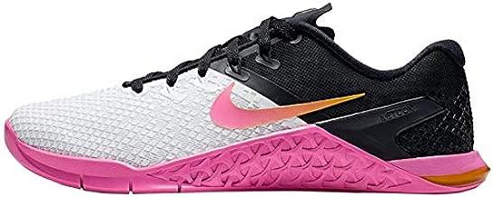 Nike WMNS Metcon 4 XD Women's Training Shoe White/University Gold-Laser Fuchsia 8.5