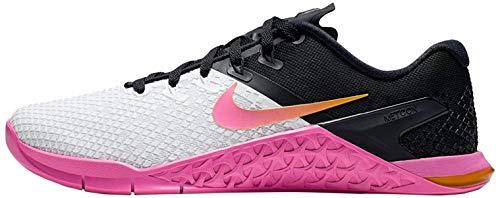 Nike WMNS Metcon 4 XD Women's Training Shoe White/University Gold-Laser Fuchsia 9.0