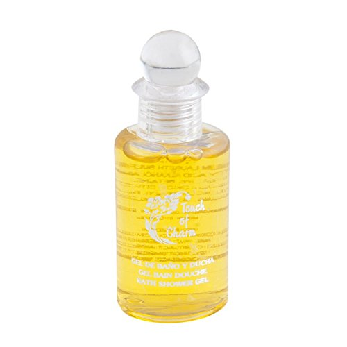 García de Pou 217.35 - flacon gel 'Touch of Charm' 35 ml 8 cm transparant plastic - 50 units