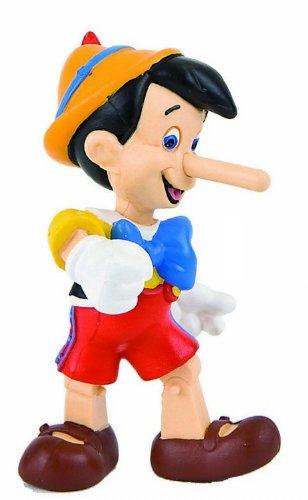 Bullyland 12399 - Spielfigur, Walt Disney Pinocchio, ca. 6 cm groß, liebevoll handbemalte Figur, PVC-frei, tolles Geschenk für Jungen und Mädchen zum fantasievollen Spielen