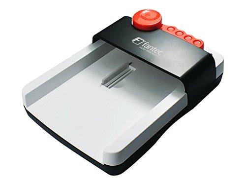 """FANTEC hdd-sneaker 2 – Base de conexión para discos duros SATA de 2,5"""" (6,35cm) y 3,5"""" (8,89cm), USB 3.1 SUPERSPEED+, con software de copia de seguridad, blanco"""