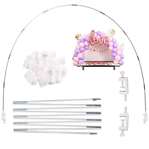 Arco Palloncino Kit, Kit Arco Semicircolare Arco Palloncino per Diverse Dimensioni del Tavolo per Matrimoni di Compleanno e Feste di Laurea