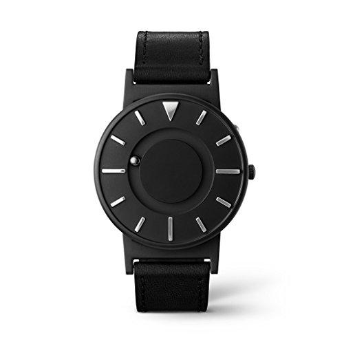 Eone Bradley - Reloj de Pulsera (Piel de Titanio), Color Negro