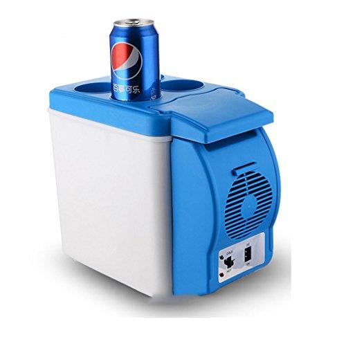 KY Mini Nevera Refrigerador del Coche 6L, Mini Nevera, 12V, Control Inteligente de Temperatura Caja fría y Caliente. Frigorífico