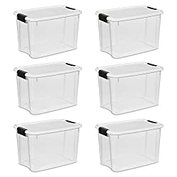 clear midsize storage containers