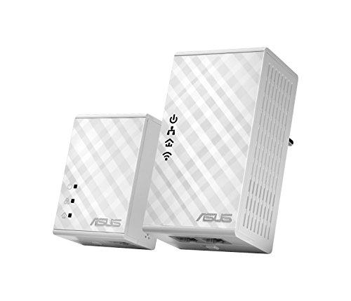 ASUS PL-N12 - Kit Extensor de Red por línea eléctrica (WiFi N300...