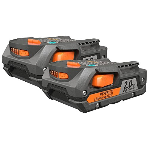 Ridgid R840086 Compact battery 2.0 AH Package 2 pack