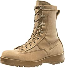 Belleville New Made in US 790 G GI Desert Tan Military Army Combat Waterproof Goretex Temperate Flight Boots (12 Regular)