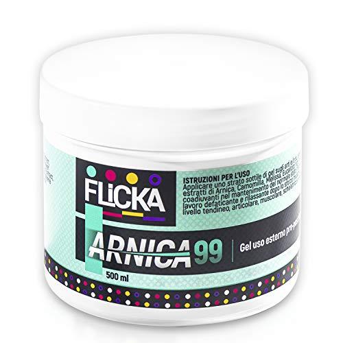 ARNICA 99 100% Italiano 500ML Super CONCENTRATA Extra Forte, Traumi Distorsioni