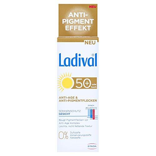 Ladival Sonnenschutz Gesicht Anti-Pigment Creme LSF 50+, 50