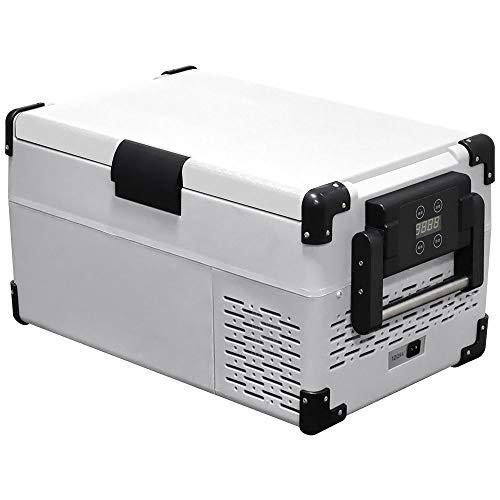 Bonarca 車載対応 冷蔵冷凍庫 25L ホワイト コンプレッサー式 庫内ライト搭載 AC/DC( 12V / 24V )電源対応 CBL-250WH