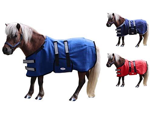 Derby Originals Polar Fleece Safety Winter Foal & Mini Horse Blanket with Warranty - Soft & Breathable Double-Layered No Hardware Fleece Sheet