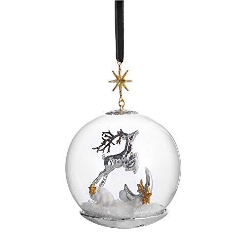 Michael Aram Reindeer Snow Globe Decorative Ornament