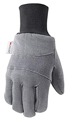 Wells Lamont Cold Weather Work Gloves, Insulated Jersey
