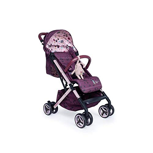 Cosatto Woosh XL Pushchair – Compact Stroller From Birth To 25kg, Lightweight, Easy Fold (Fairy Garden)