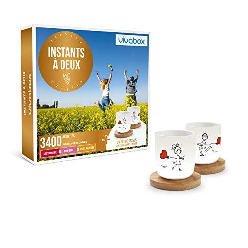 Vivabox - Coffret cadeau couple - INSTANTS À DEUX -