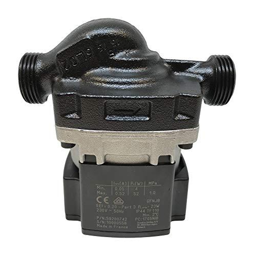 Nibe Heatpumpe - Umwälzpumpe Grundfos UPM3 Flex AS 15-70 130 mm (ersetzt UPS 15-60) - Ersatzteil Wärmepumpen -
