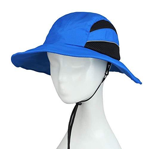 BGSFF Hombres Sombrero para el Sol Verano Protección UV Gorra de ala Ancha Pesca al Aire Libre Senderismo Camping Sombrero de Viaje (Color: A)