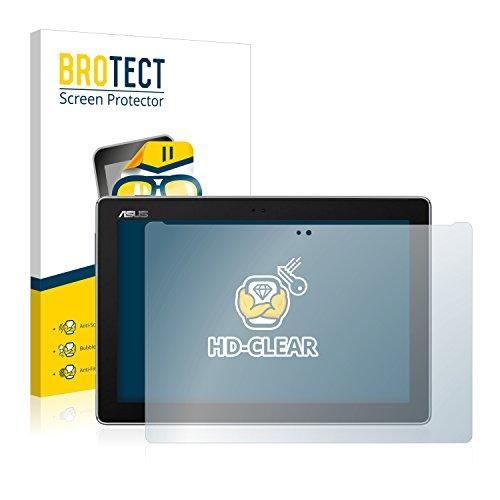 BROTECT Schutzfolie kompatibel mit Asus ZenPad 10 Z301ML (2 Stück) klare Bildschirmschutz-Folie