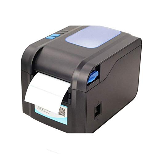 DJDLLZY Etikett streckkodsprutning Termisk kvitto eller etikettskrivare 20mm till 80mm termisk streckkodsprinter