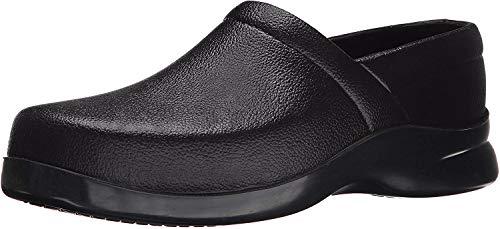 Klogs Footwear Men's Bistro Closed Back Chef Clog Black