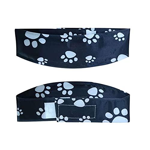fdsfa Collar Perros, Collar Refrigerante Perro, Pañuelo De Enfriamiento Perros, Banda Ajustable para El Cuello Enfriamiento Perros De Verano Azul, Perros Banda El Cuello De Enfriamientopara Mascotas