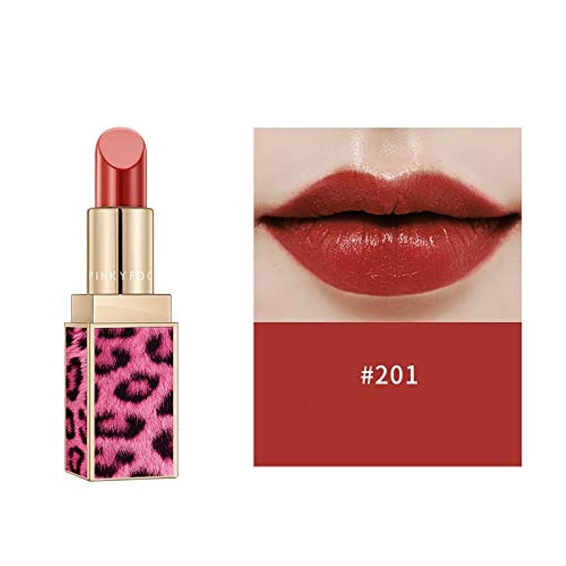 雲手段炭素Symboat ピンク ヒョウ ケース 口紅 防水 長持ち リップスティック落ちにくい口紅 化粧品 人気 恋する唇 ランキング