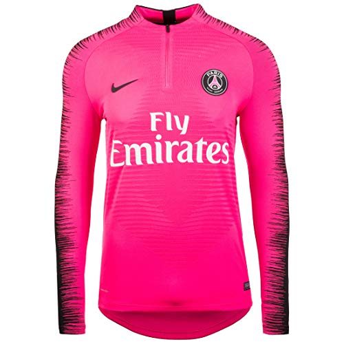 Nike PSG M Vprknit Strke Dril, Maglia A Maniche Lunghe Uomo, Hyper Pink Black, L
