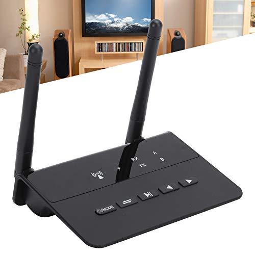 BOLORAMO Adaptador de Audio, Exquisito Adaptador Bluetooth HiFi Calidad de Sonido sin pérdidas Compacto Ultrabajo para TV para Auriculares